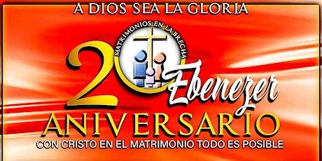 20 Aniversario Matrimonios en la Brecha tickets