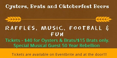 Oktoberfest with special musical guest 50yr Rebellion tickets