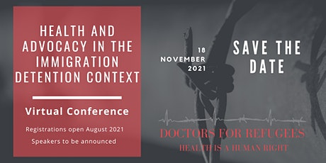 Health and Advocacy in the Immigration Detention Context tickets