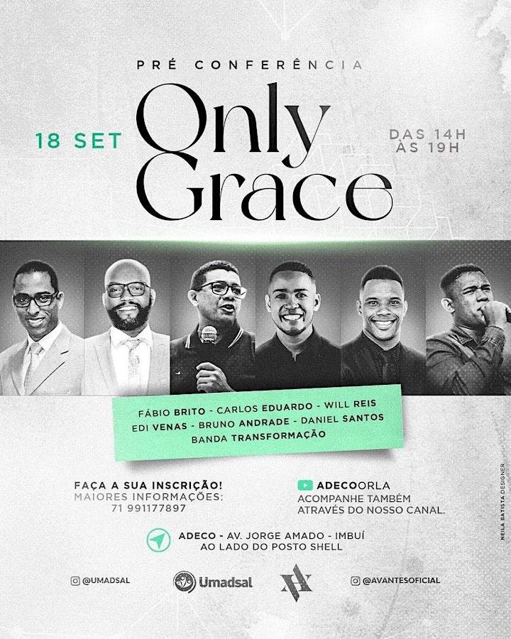 Imagem do evento Pré Conferência Only Grace