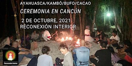 Ceremonia en Cancún con Ayahuasca/Kambó/Bufo/Cacao boletos