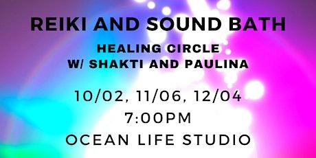 Reiki and Sound Bath Circle entradas