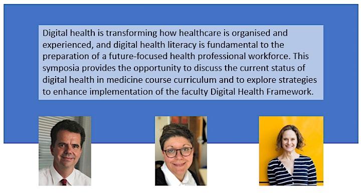 Monash Medicine Curriculum Symposia 2021 - Digital Health via Zoom image
