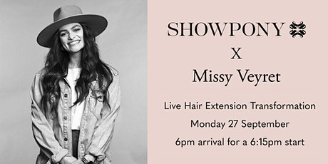 Showpony LIVE #hairtransformations with Missy Veyret tickets