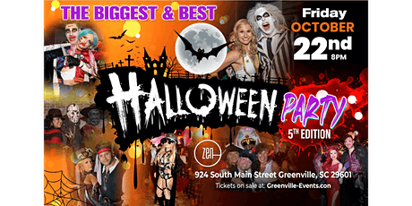 Halloween Party—The BIGGEST & BEST 5th Edition at ZEN! tickets