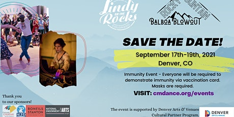 Lindy on the Rocks & Rocky Mountain Balboa Blowout 2021 tickets