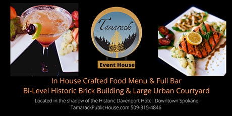 Tamarack Events - Live Music, Visual Art and Dinner Event tickets