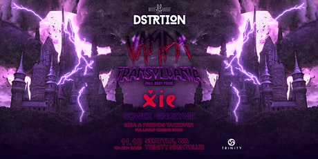 DSTRTION w/ Vampa & XIE: Transylvania tickets