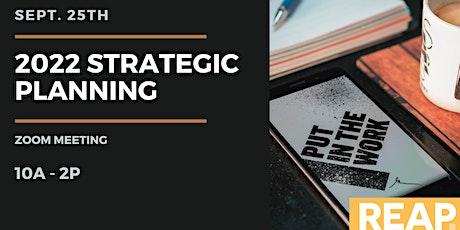 2022 Strategic Planning tickets