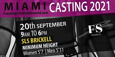 FS Models Models Miami Casting tickets