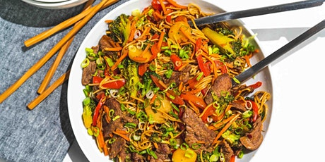 Beef Lo Mein: FREE Virtual Cooking Class tickets