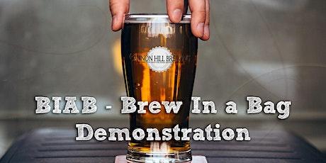 Brew In A Bag Demonstration (BIAB) tickets