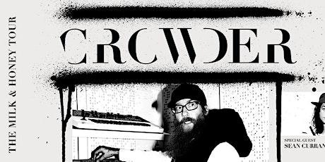 Crowder - Show Volunteers - Spartanburg, SC tickets