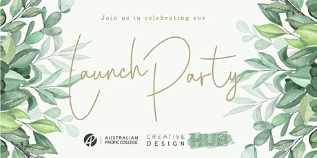 NEW DATE: APC Creative Design Hub Launch Party tickets
