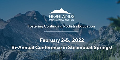 Highlands Bi-Annual Conference Feb 2 - 5, 2022 tickets