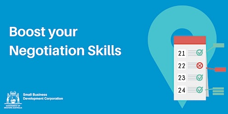 Boost your Negotiation Skills tickets