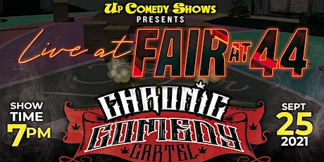 The Chronic Comedy Cartel : San Diego - 9/25 - 6-10pm tickets