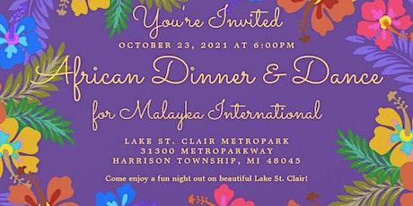 African Dinner & Dance tickets
