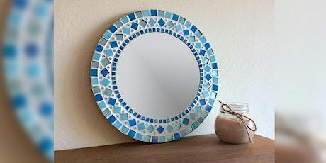 Beginner level mosaics -  decorate a mirror tickets