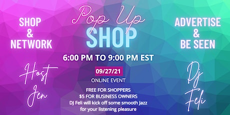 POP-UP SHOP - Entrepreneurs and Shoppers tickets