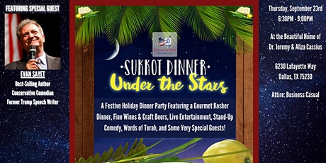 Sukkot Under the Stars - A Festive Holiday Reception & Dinner Party! tickets