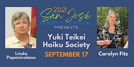 San José Poetry Festival presents Yuki Teikei Haiku Society tickets