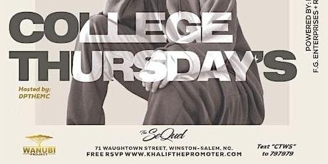 "Khalif The Promoter Presents ""College Thursdays"" SQUAD GOALS tickets"