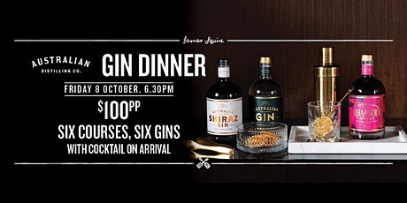 A Charming Gin Dinner | Australian Distilling Co tickets