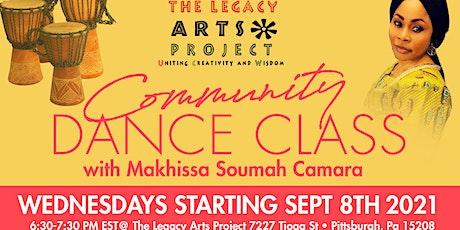 Community Dance Class with Makhissa Soumah Camara tickets