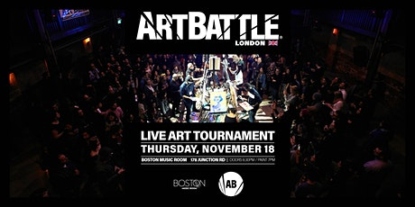 Art Battle London - 18 November, 2021 tickets