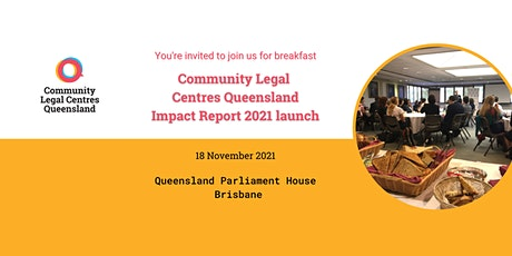 CLCQ Impact Report 2021 breakfast launch tickets