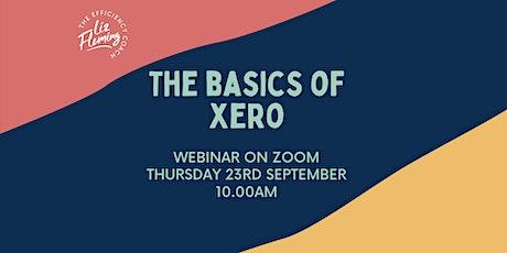 Webinar: The Basics of Xero tickets