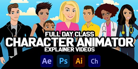 Adobe Character Animator Explainer All Day Workshop tickets