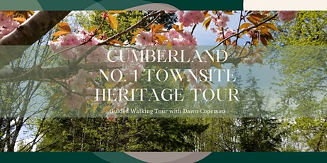 History of Japanese Canadian Pioneers in Cumberland Guided Walking Tour tickets
