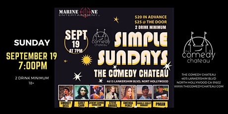 Marine One Entertainment presents at The Comedy Chateau tickets