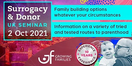Surrogacy and Egg Donor Seminar- London by Growing Families tickets