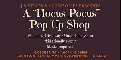 "A ""Hocus Pocus"" Pop Up Shop tickets"