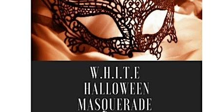 W.H.I.T.E 5th Annual Halloween Masquerade entradas