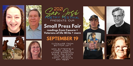 San José Poetry Festival | Small Press Fair & Festival Close tickets