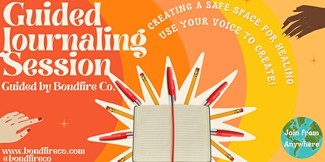 Guided Journaling Session tickets