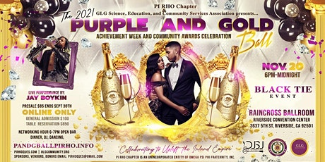 Purple And Gold Ball 2021 tickets