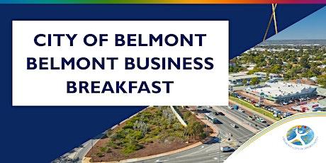 Belmont Business Breakfast tickets