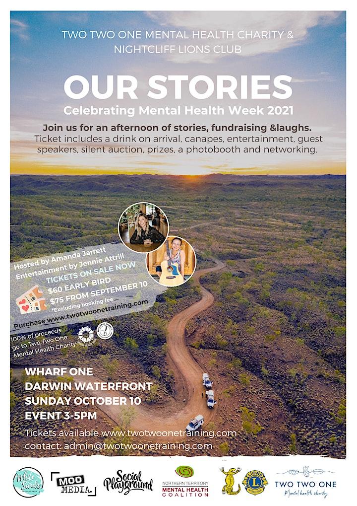 OUR STORIES - Celebrating Mental Health Week image