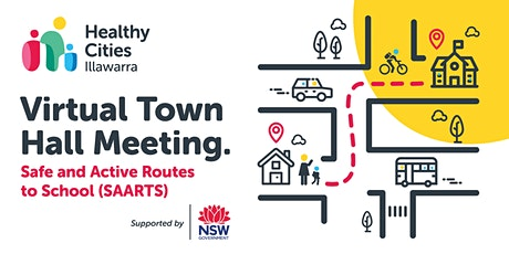 Virtual Town Hall Meeting - Safe and Active Routes to School (SAARTS) tickets