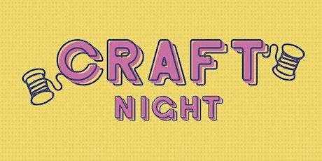 Craft Night - Fall Door Hanger entradas