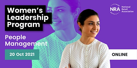 ONLINE Women's Leadership Program: People Management tickets