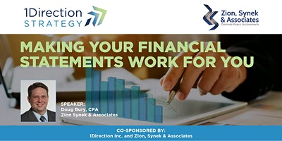 Making Your Financial Statements Work For You…