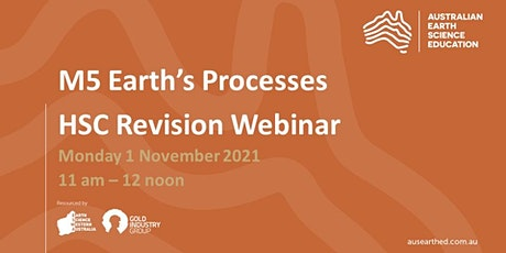 M5 (Earth's Processes) HSC Revision Webinar tickets