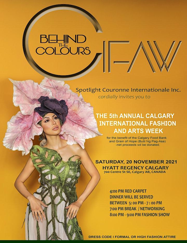 Calgary International Fashion And Arts Week  CIFAW 2021 image