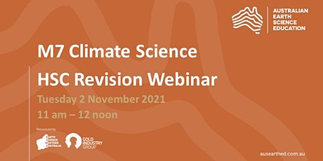 M7 (Climate Science) HSC Revision Webinar tickets